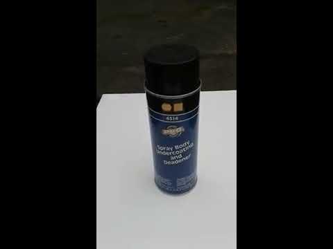 Black Rubber Spray Body Undercoating and Deadener 4514 Martin Senour Paint