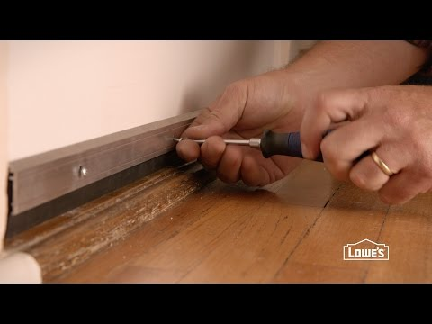 How to Install a Door Sweep
