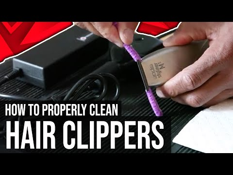 How To Properly Clean Hair Clippers fast & Cleaning Hair clipper Without removing the blade