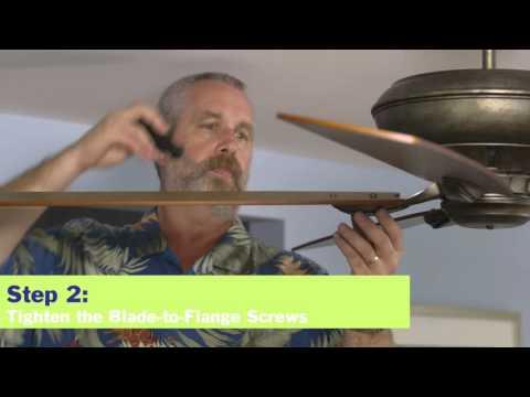 How to Fix a Noisy Ceiling Fan