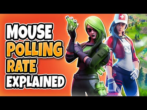 Mouse Polling Rate for Fortnite Explained